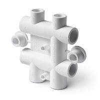 Распределительный блок Pro Aqua для систем водоснабжения (PP-R)