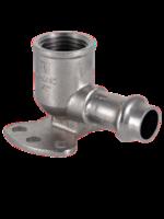 Пресс фитинг VALTEC водорозетка, нерж, 15х1/2″, арт. VTi.954.I.001504