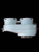 Разделительный адаптер 80/125 — 80/80 PP арт. 0020221288