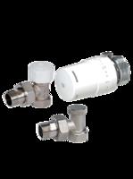Термокомплект радиаторный угловой Arco, KCT01