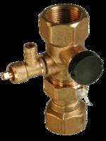 Клапан для подключения расширительного бака AFRISO ASK 77924