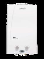 Газовые проточные водонагреватели Superlux DGI 10L CF. Розжиг от батареек