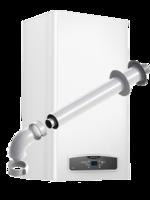 Газовые котлы Ariston CARES X 24 FF. Двухконтурный, турбированный, 24 кВт.