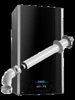 Газовый котел Ariston ALTEAS X 35 FF NG. Двухконтурный.