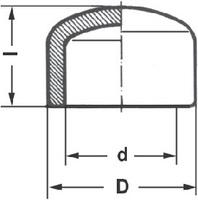 Заглушка полипропиленовая Pro Aqua (PP-R), 20мм